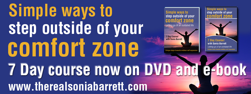 comfort zone book dvd
